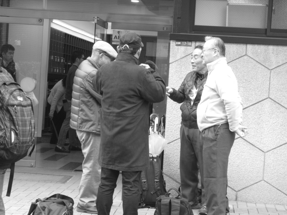 Aikikaï Tokyo 2016 - Après le cours du Doshu